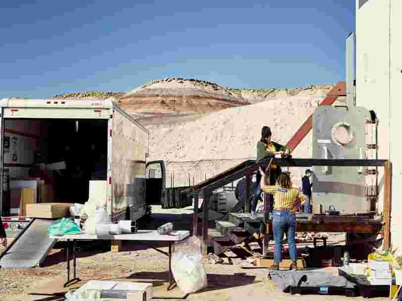 Ikea a meublé une minuscule station de recherche destinée à simuler la vie sur Mars