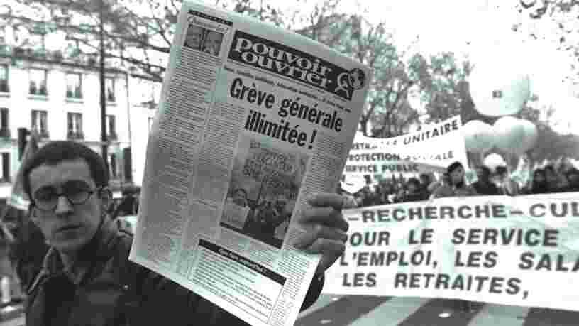 La grève du 5 décembre sera-t-elle comme celles de 1995 ? Voici à quoi ressemblait le mouvement en images