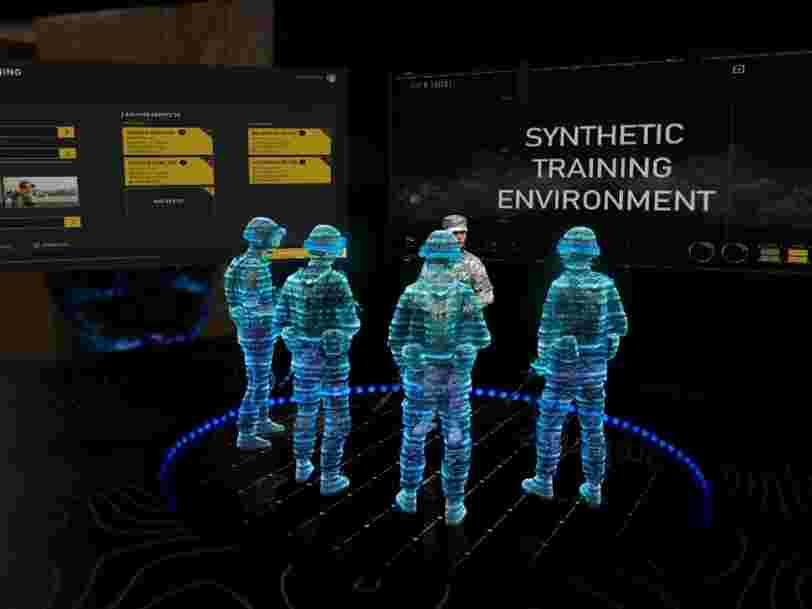 Comment fonctionne le dispositif d'entraînement en réalité augmentée à 433 M€ de l'armée américaine