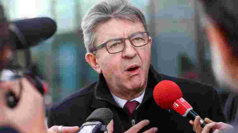Jean-Luc Mélenchon condamné à 3 mois de prison avec sursis après la perquisition houleuse chez LFI