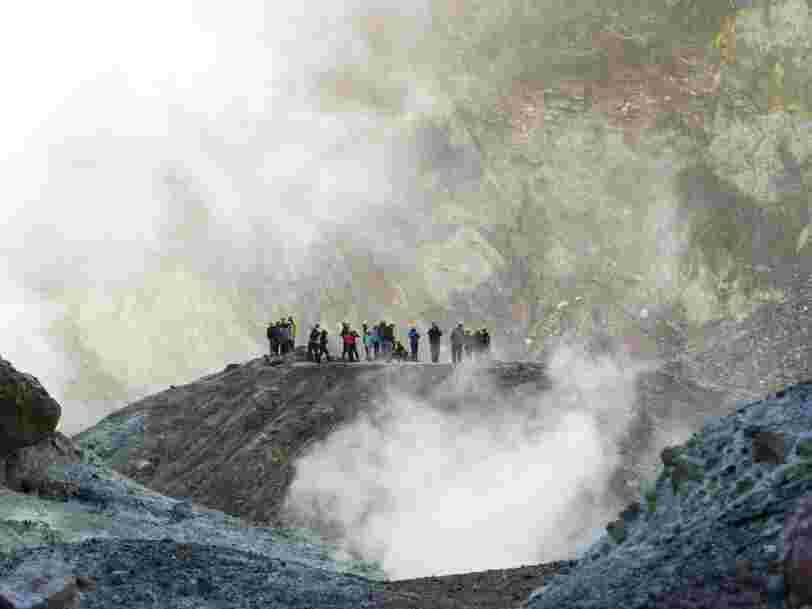 L'éruption du volcan en Nouvelle-Zélande n'était pas prévisible selon des experts, malgré les signes avant-coureurs