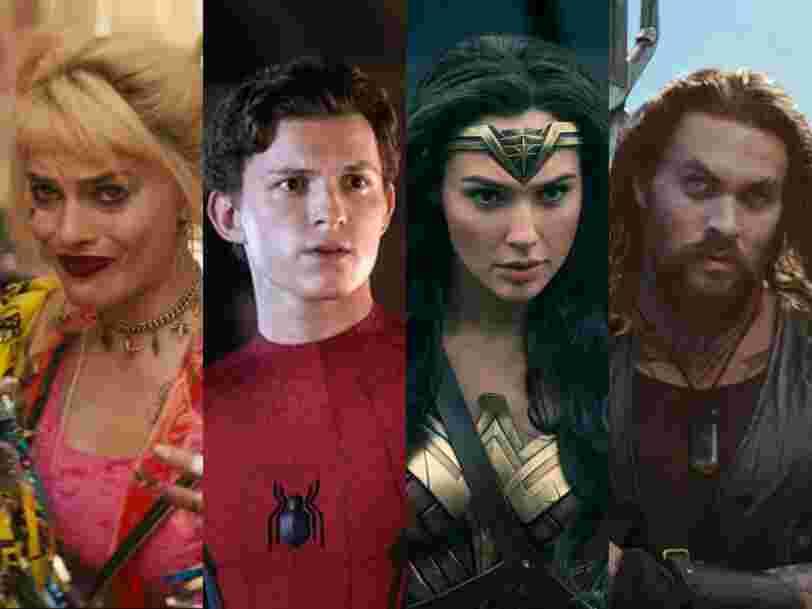 Tous les films de super-héros attendus à partir de 2020
