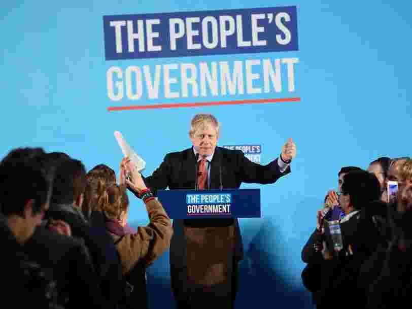 La réélection de Boris Johnson avec une large majorité laisse le champ libre à un Brexit le 31 janvier