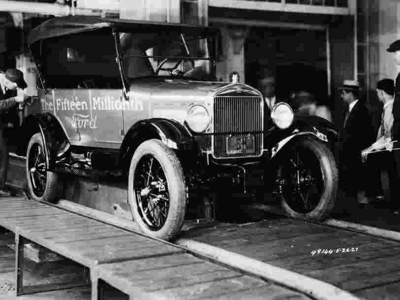 13 photos qui illustrent la première révolution automobile aux Etats-Unis