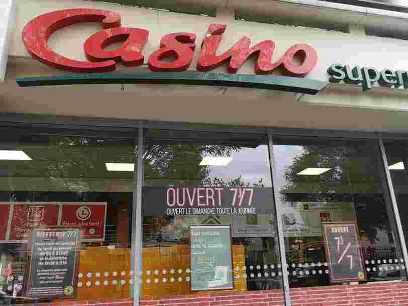 L'ouverture dimanche d'un Géant Casino automatisé en Haute-Loire a provoqué des tensions