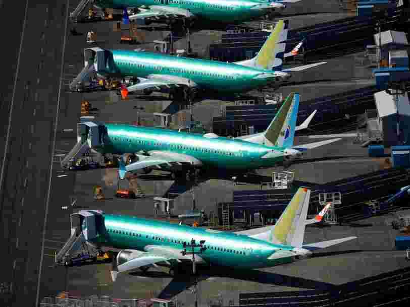 Boeing pourrait arrêter la production des 737 Max tant que ceux-ci sont cloués au sol