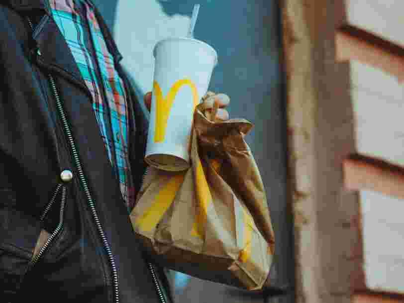 Les pailles en carton de McDonald's ne sont pas recyclables... contrairement à celles en plastique