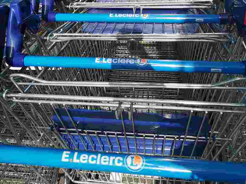 La centrale d'achat co-détenue par E.Leclerc écope d'une amende de plus de 6 millions d'euros