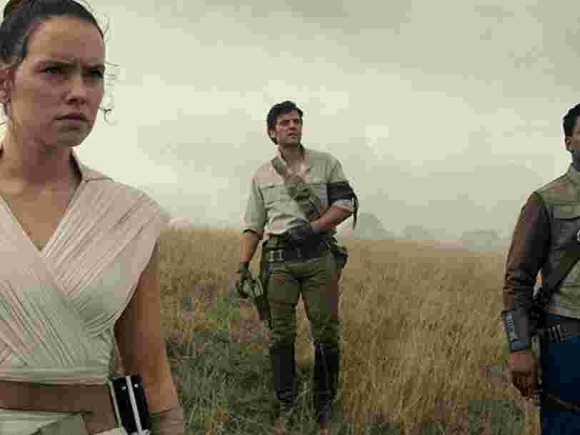 'Star Wars : l'Ascension de Skywalker' est un divertissement spectaculaire qui manque d'ambition