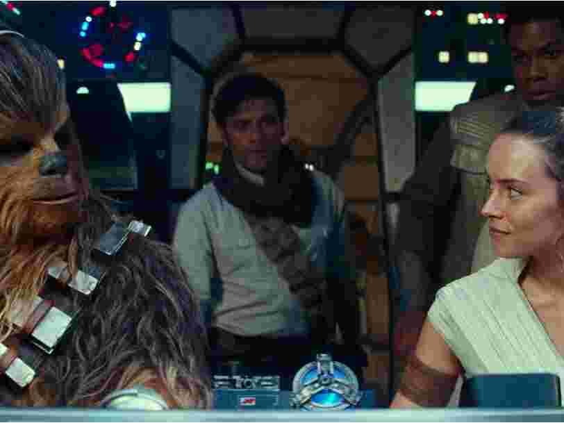 'Star Wars : L'Ascension de Skywalker' enregistre un démarrage record au box-office mais reste loin derrière 'Les derniers Jedi'