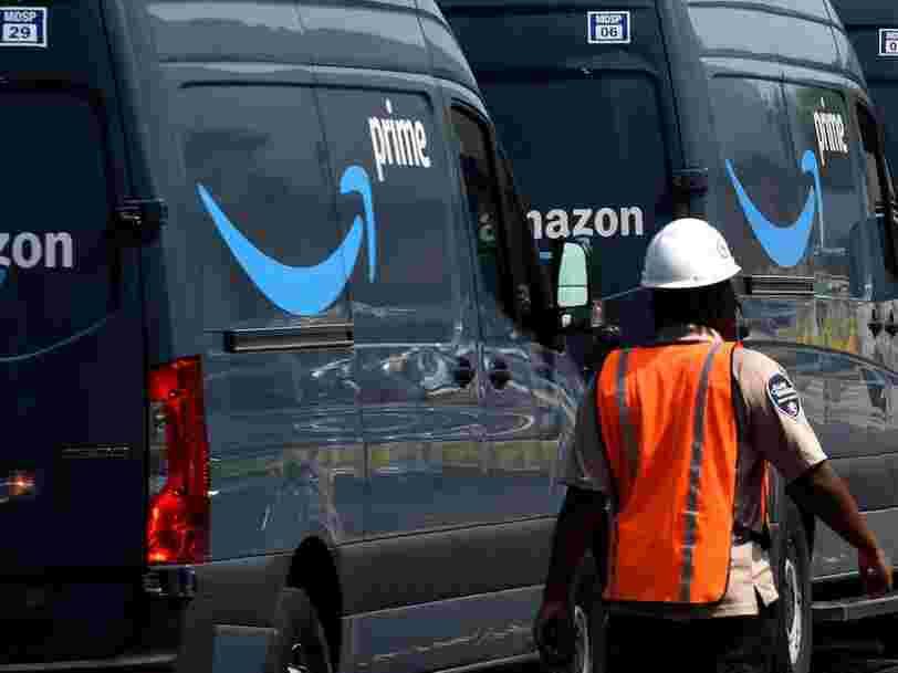 Les chauffeurs-livreurs Amazon ont été impliqués dans plus de 60 accidents, dont 13 mortels, depuis 2015 aux États-Unis