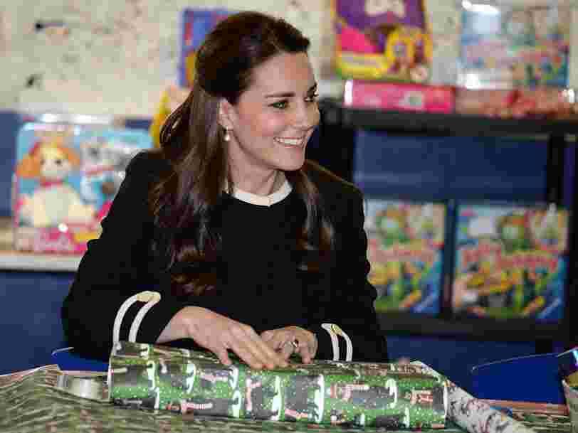 Voici ce que s'offrent les membres de la famille royale britannique pour Noël