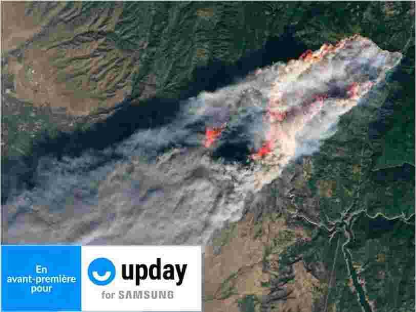 Ces photos prises depuis l'espace témoignent des conséquences du changement climatique