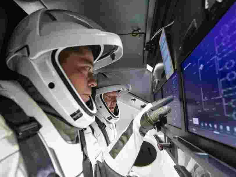 SpaceX publie une vidéo montrant à quoi pourrait ressembler sa mission pour envoyer des astronautes sur l'ISS