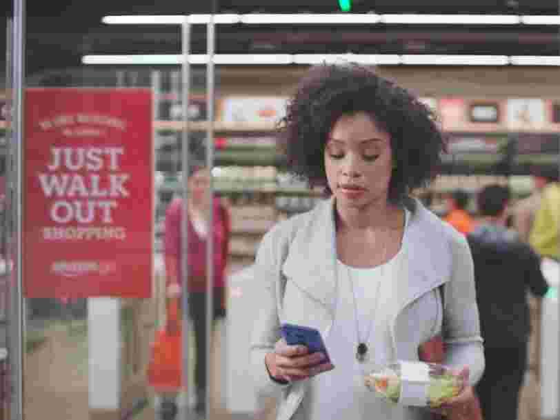 Amazon pourrait bientôt vous faire payer en magasin en scannant vos mains