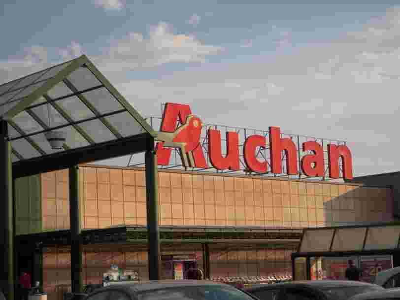 Auchan pourrait bientôt annoncer un plan de départs de 1 000 salariés