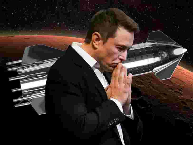Elon Musk espère lancer son Starship pour la première fois 'd'ici 2 à 3 mois'