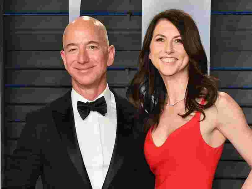 Avec son divorce, Jeff Bezos aurait perdu près de 9Mds d'€, mais il reste l'homme le plus riche du monde