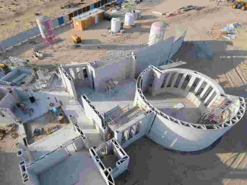 Dubaï abrite la plus grande structure imprimée en 3D au monde, construite avec l'aide de seulement 3 ouvriers