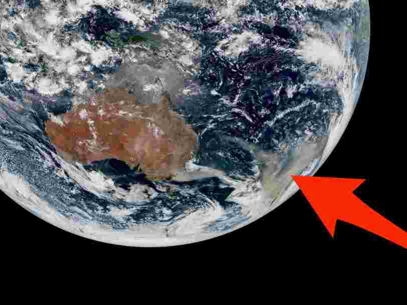 Des images satellites révèlent l'étendue des feux de brousse en Australie