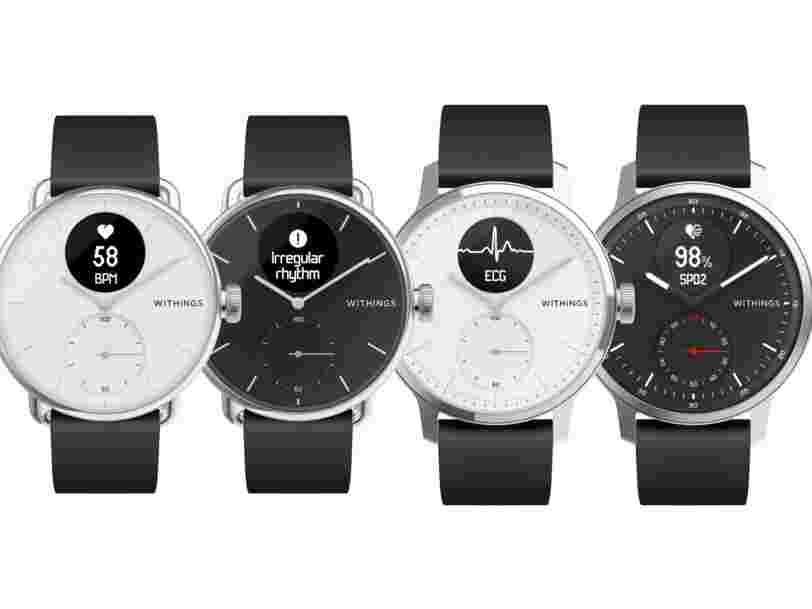 La ScanWatch de Withings est la première montre connectée capable de détecter l'apnée du sommeil