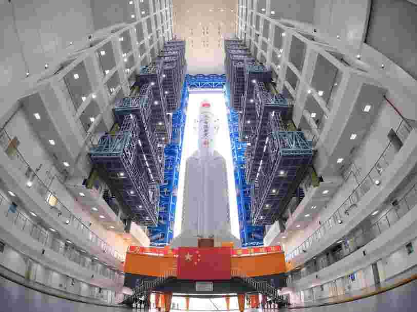 La Chine va accélérer la cadence dans le spatial avec 40 lancements prévus cette année