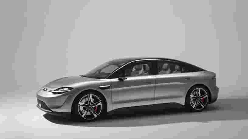 Avec sa voiture électrique Vision-S, Sony créé la surprise au CES 2020