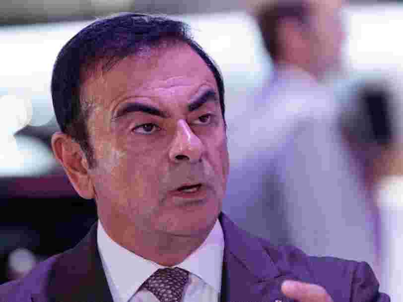 Nissan réclame 83 M€ à Carlos Ghosn pendant que lui demande 15 M€ au constructeur et son allié Mitsubishi