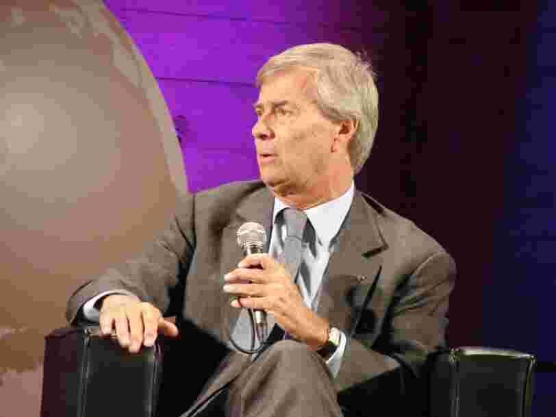 Vincent Bolloré a informé la Commission européenne qu'il serait sur le point de prendre le contrôle de Vivendi