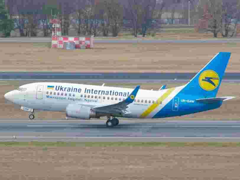 Un Boeing 737 d'Ukraine International Airlines s'est écrasé en Iran peu après le décollage