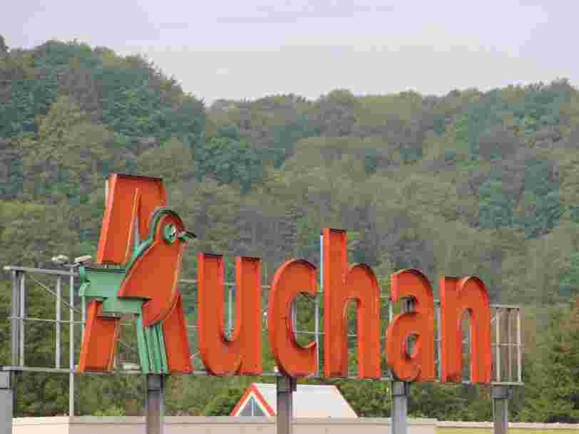 Coronavirus : les rayons de plusieurs hypermarchés Auchan 'dévalisés'