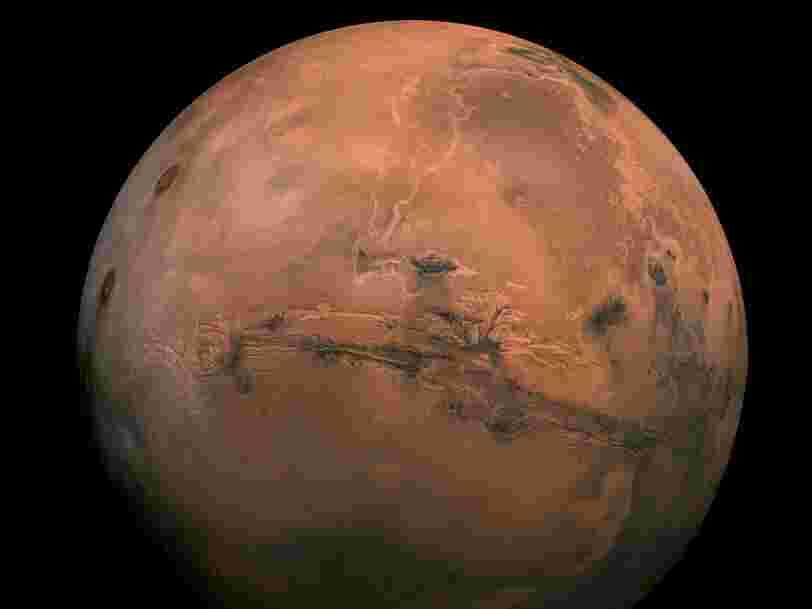 Mars perdrait de l'eau plus vite qu'on ne le pensait et cette découverte éclaire l'histoire de la planète rouge