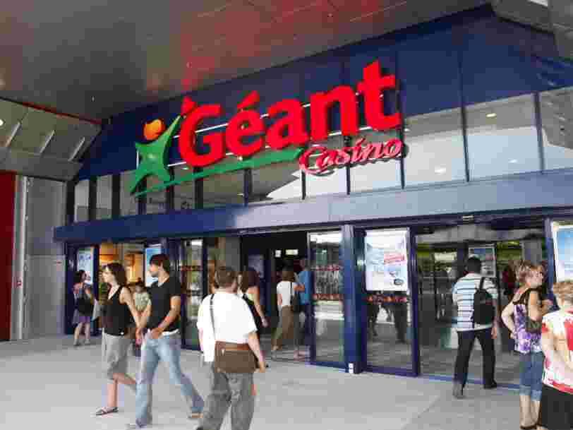 Un Géant Casino affiche par erreur des télés à 30 euros, la police obligée d'intervenir pour déloger les clients