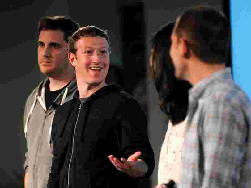 Voici les bonne résolutions que Mark Zuckerberg a prises chaque année depuis 2009