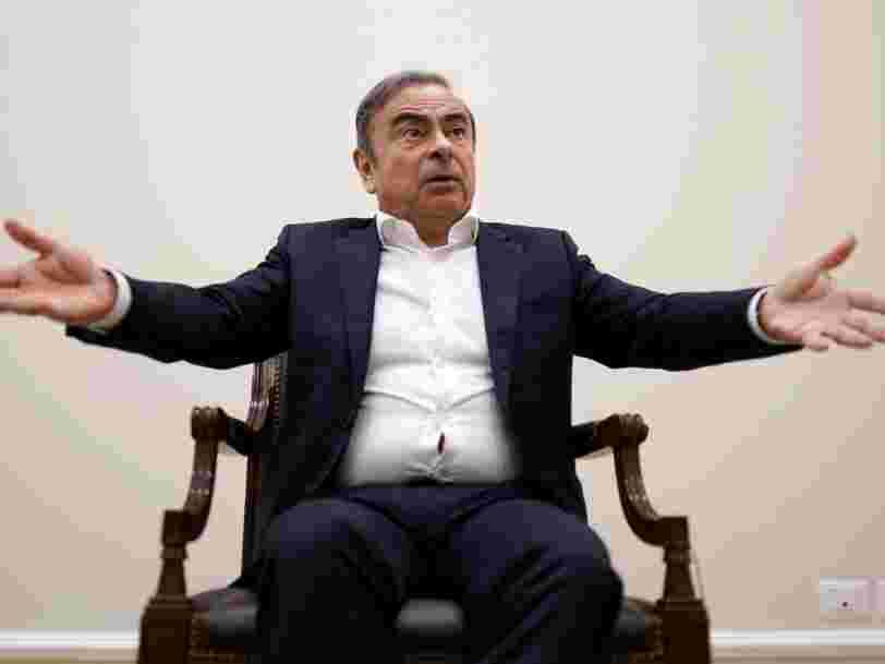 Carlos Ghosn attaque Renault aux prud'hommes pour réclamer ses droits à la retraite
