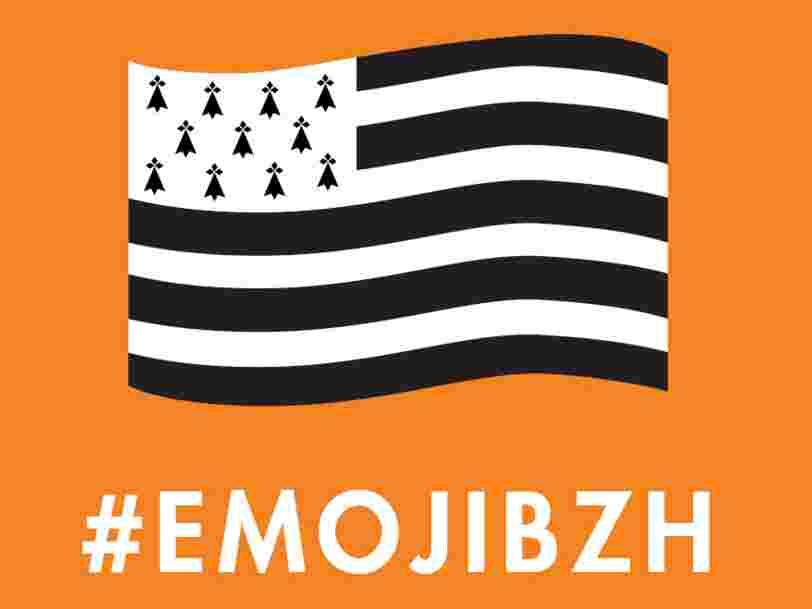 Comment les Bretons espèrent voir leur drapeau transformé en emoji grâce à une campagne de com' sur Twitter