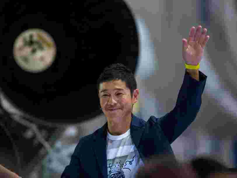 Voici les critères du milliardaire japonais qui voyagera autour de la Lune avec Space X pour trouver la femme qui l'accompagnera
