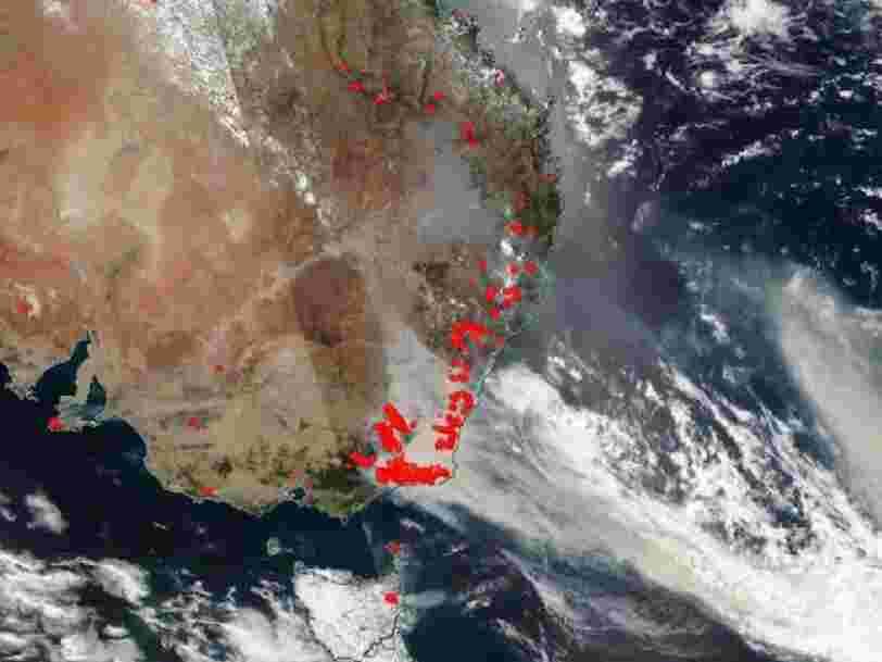 La NASA prévoit que la fumée des incendies en Australie fasse un tour du monde complet