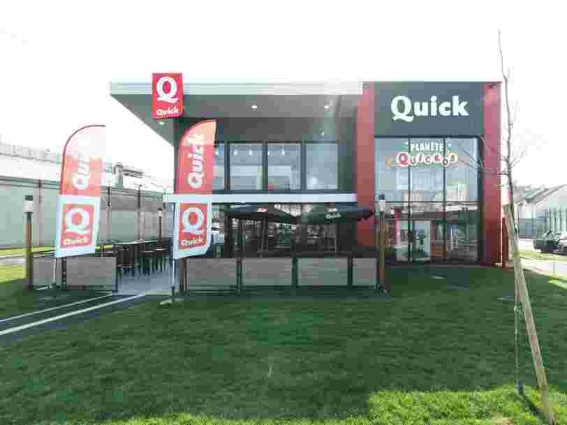 Le groupe Bertrand cède les restaurants Quick à un fonds américain