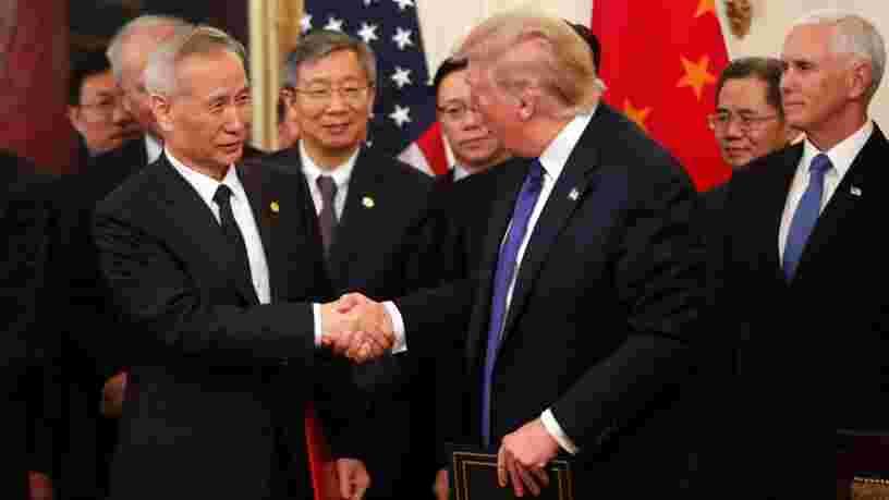Pékin et Washington signent un premier accord commercial en attendant de nouvelles tractations