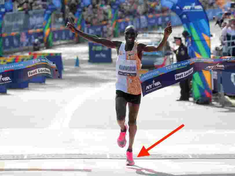 Pourquoi la basket Nike Vaporfly qui bat des records au marathon est considérée par certains comme du dopage technologique