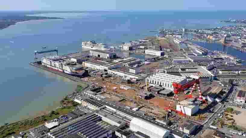 Les Chantiers de Saint-Nazaire reçoivent une commande de 2 Mds€ pour deux paquebots