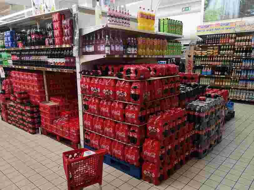 Coca-Cola annonce un investissement d'1 Md€ en France et compte lancer de nouveaux produits