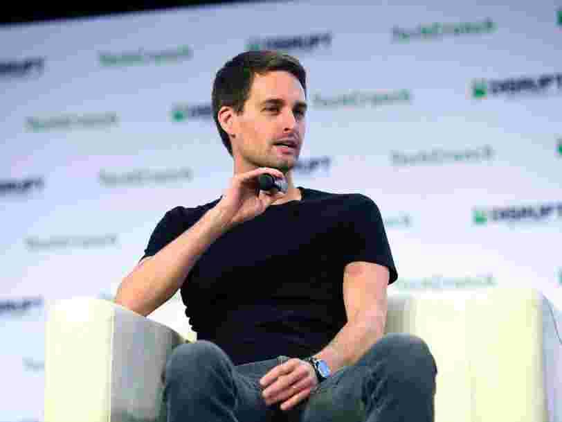 Le DG de Snap, Evan Spiegel, a affirmé que TikTok pourrait surpasser Instagram car l'appli se concentre plus sur le talent que sur les likes