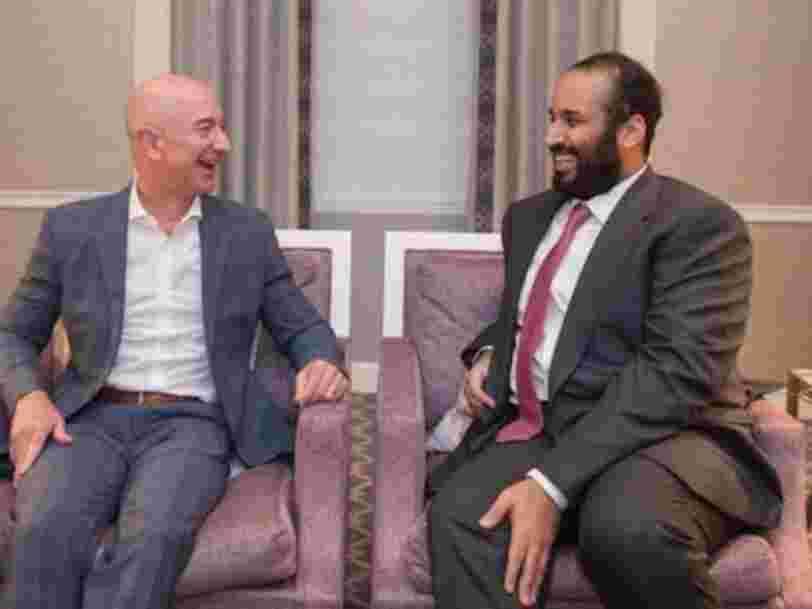 Le téléphone de Jeff Bezos aurait été piraté par le prince héritier saoudien pendant des mois