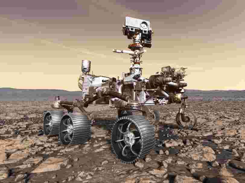 La NASA a demandé aux enfants de nommer son nouveau rover pour Mars, et les 9 noms finalistes comprennent 'Courage' et 'Vision'
