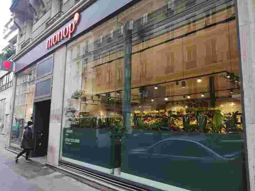 On a visité le nouveau magasin Monop' dont le concept va être déployé en 2020