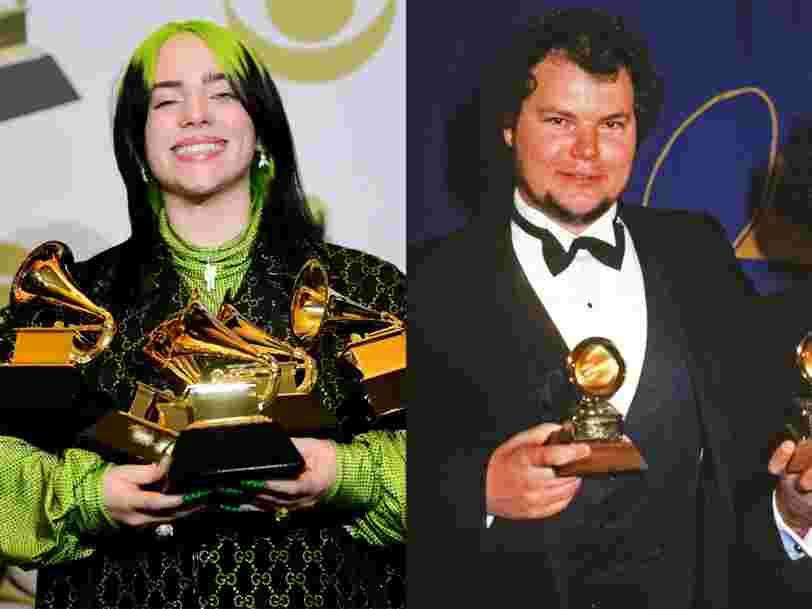Billie Eilish est la deuxième artiste de l'histoire à remporter les quatre principaux Grammys la même année