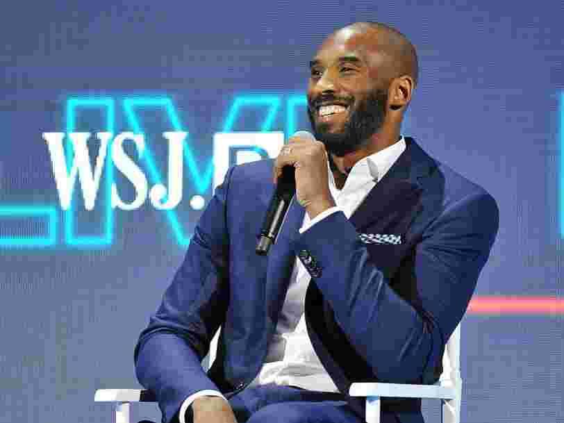 Kobe Bryant n'était pas seulement une légende de la NBA mais aussi un véritable investisseur