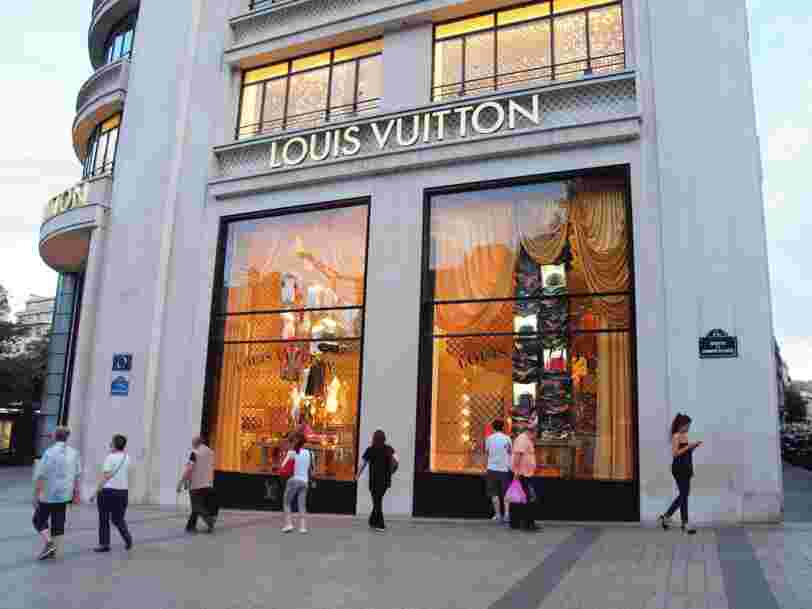 Louis Vuitton, Chanel, Orange... Les 19 marques françaises qui valent le plus cher au monde